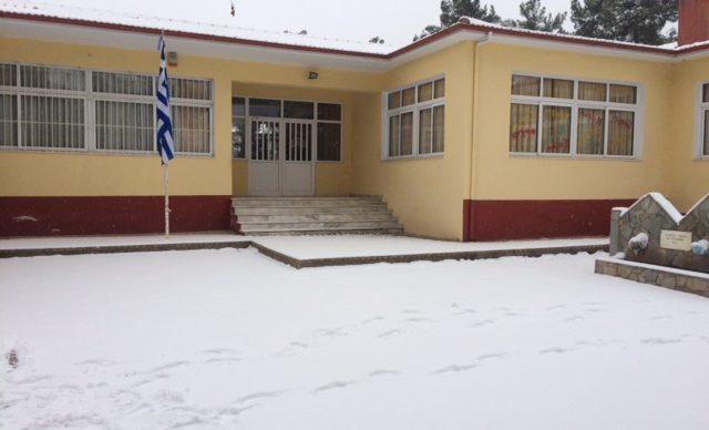 Ανακοίνωση για την λειτουργία του Σχολείου μας για 13-1-16